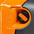 Start flap lever (M-Tronic)
