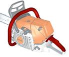 Chauffage de poignée électrique (W):