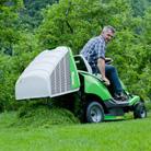 Recogedor de hierba de 250 litros