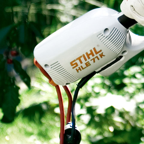 Stihl Hle 71 125 600w Electric Long Reach Hedge Trimmer