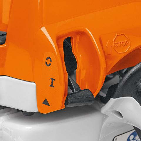 Ms 261 c bm benzine kettingzaag met stihl m tronic en stihl kettingsnelspanner - Tronconneuse stihl ms 261 ...