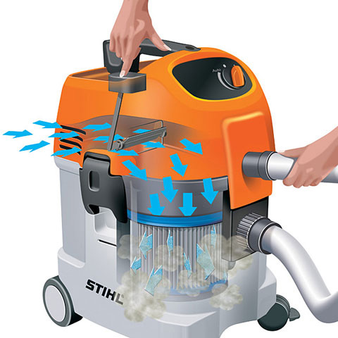 Se 122 Powerful Wet And Dry Vacuum Cleaner