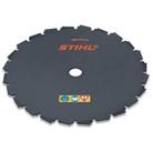 Circular saw blade, chisel-tooth