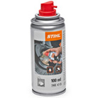 Silicone spray for STIHL sweepers