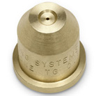Full cone brass nozzle