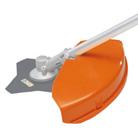 Protezione universale per testine falcianti e utensili di metallo