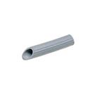 Angled rubber nozzle