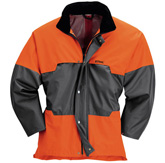 ADVANCE-Wetterschutz-Jacke, anthrazit/orange