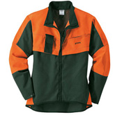 Jacke ECONOMY PLUS, grün/orange