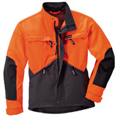 Jacke DYNAMIC, anthrazit/warnorange