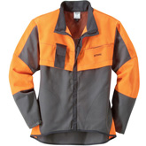 Jacke ECONOMY PLUS , anthrazit/warnorange