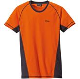 Футболка LOGGER, оранжевая