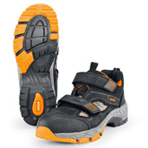 WORKER VENT S1 mid-height summer safety shoes