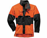ADVANCE Jacke schwarz/orange