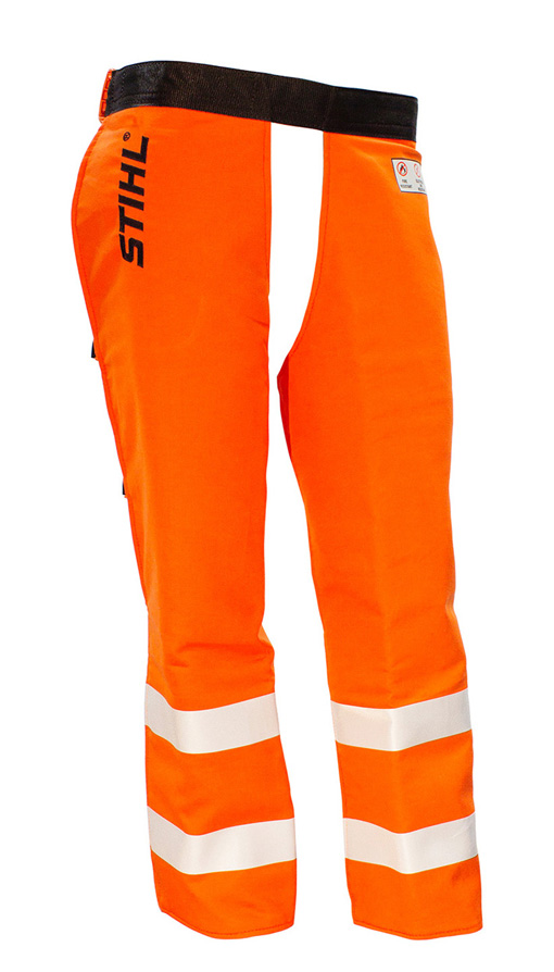 Protective Chaps - Chainsaw - G&U - Orange - 105cm