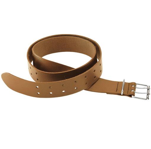 Work Belt - Leather - Tan