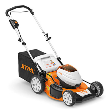 rma 510 battery lawnmower for working on larger areas. Black Bedroom Furniture Sets. Home Design Ideas