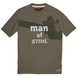 "TIMBERSPORTS t-shirt ""man of STIHL"""