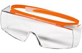 Schutzbrille SUPER OTG, klar