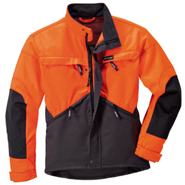 Veste DYNAMIC anthracite/orange fluorescent
