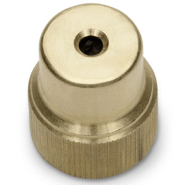 Hollow brass cone nozzle, 2.5 mm