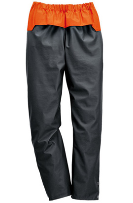 ADVANCE-Wetterschutz-Bundhose, anthrazit/orange