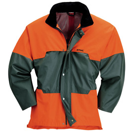 ADVANCE Jacke grün/orange