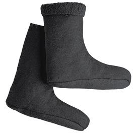Faserpelz-Socken