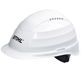 ROCKMAN construction helmet, white