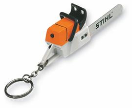 Porte-clés tronçonneuse (à piles)