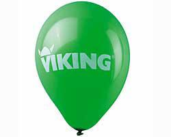 Балон, зелен