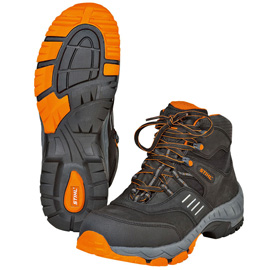 WORKER S3 laced safety boots