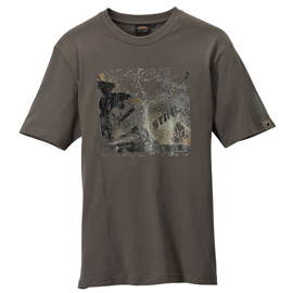 T-Shirt dark/olive