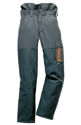 ADVANCE Bundhose anthrazit/orange