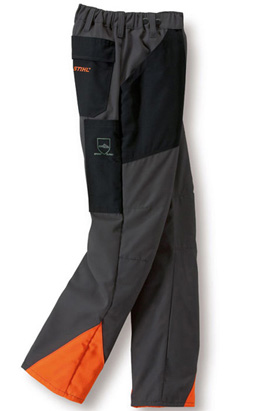 ECONOMY PLUS Schnittschutz-Bundhose,anthr./orange