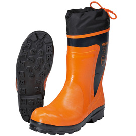 STANDARD chain saw rubber boots