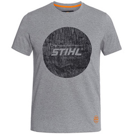 Wood circle t-shirt