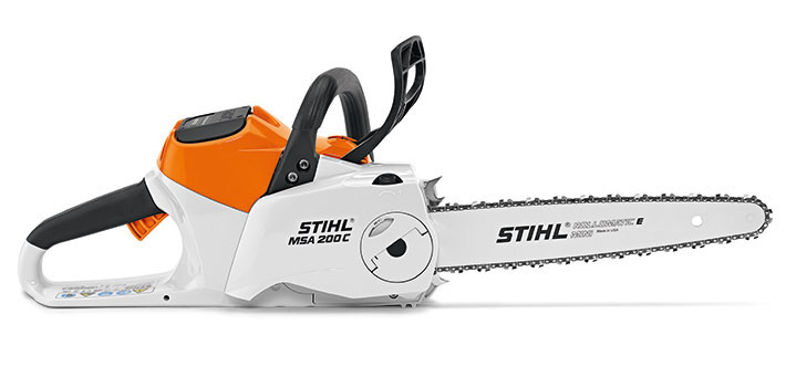 msa 200 c bq tool only powerful cordless chainsaw. Black Bedroom Furniture Sets. Home Design Ideas