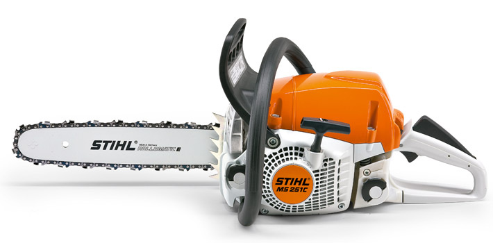 how to start a stihl ms 251 c chainsaw