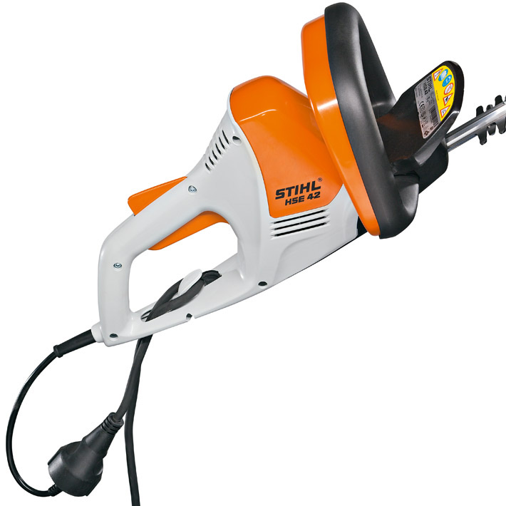 hse 42 very light 420w electric hedge trimmer. Black Bedroom Furniture Sets. Home Design Ideas