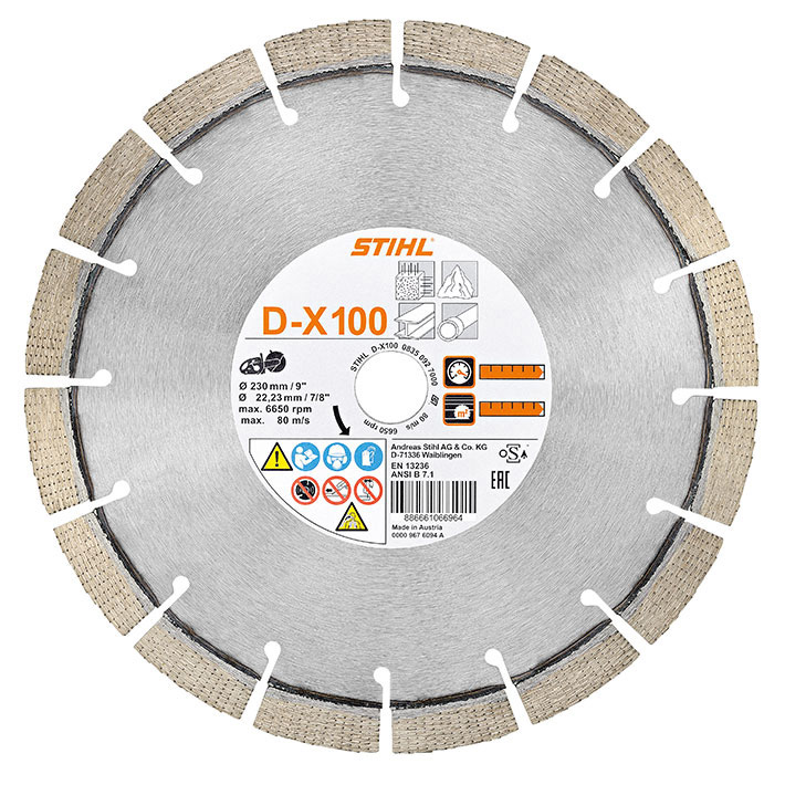 Diamond Cutting Wheel Universal Dx 100