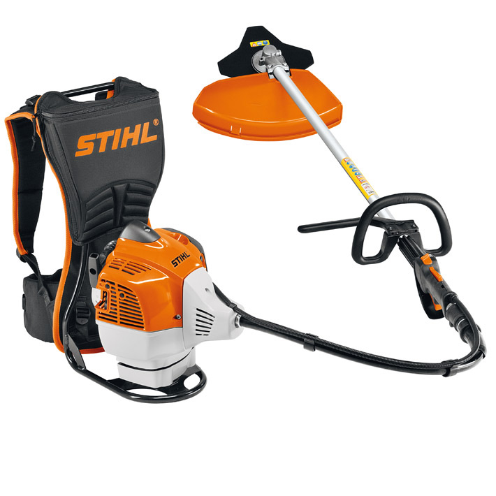 fr 410 c e 2 0kw backpack brushcutter with stihl ergostart. Black Bedroom Furniture Sets. Home Design Ideas
