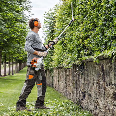 Hl 94 C E Powerful Long Reach Hedge Trimmer With Long Shaft