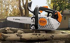 STIHL MS 150 TC-E - лек и изключително прецизен