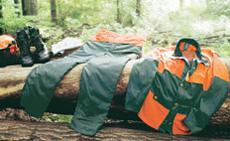 Таблици с размери за защитното работно облекло