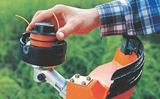 Режещи инструменти за моторни коси и храсторези
