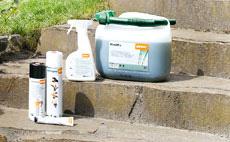 Hoogwaardige brandstoffen en smeermiddelen van STIHL