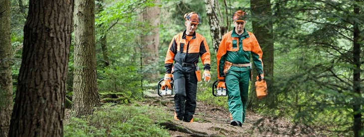 Ensembles forestiers STIHL