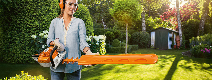 STIHL Hedge Trimmers and Long-Reach Hedge Trimmers