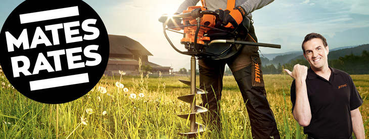 STIHL Earth Augers and Petrol Drill